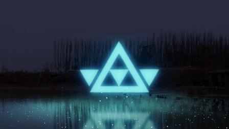 AE学习助手: 光影动画的二维发光体的制作, 内涵三角形和四边形