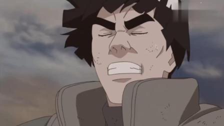 火影忍者-凯和卡卡西大战尾兽无压力, 鸣人却差点被四尾咬死