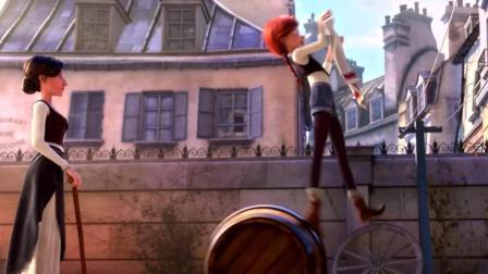 女孩为学舞蹈来到巴黎, 在瘸腿清洁工指导下, 打败著名舞蹈冠军