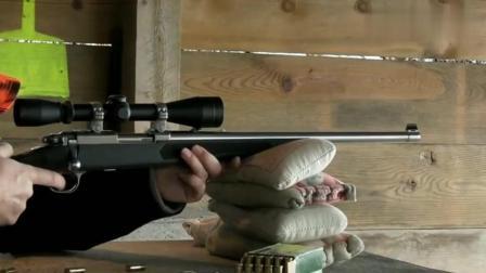 小口径狙击步枪射击, 综合性能不错, 关键是后坐力很小!