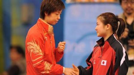 有意思! 当福原爱遇到张怡宁, 搞笑的时刻开始了!