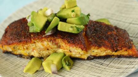 健康美食驾到~美味的牛油果熏三文鱼