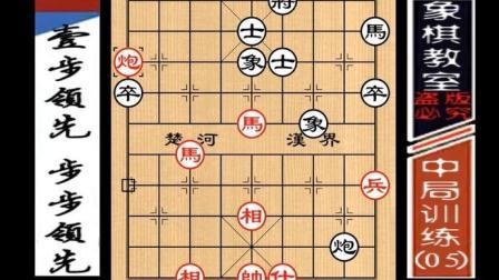 """""""职业棋手""""中局训练: 壹步领先、步步领先(05)"""