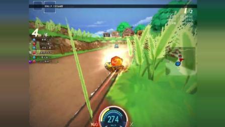 跑跑卡丁车: 森林发夹, 表现的就是弯道超车