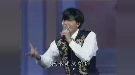 郭富城《对你爱不完》1991年现场, 尽显舞王风采!