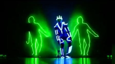 NRGman new  Laserman SHOW 激光舞