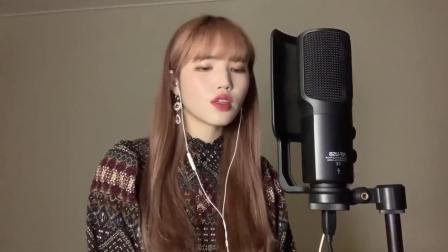 颜值超高小姐姐翻唱金智妮《SOLO》, 人美歌甜!