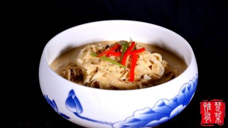 一道从汉代流传至今的美食, 堪称豆制品中的王者, 金牛千张享誉天下, 舌尖上的湖北!