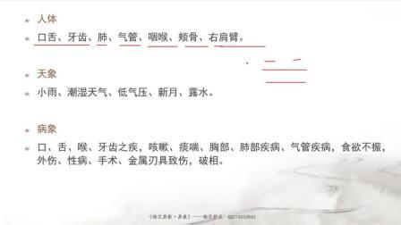 11梅花易数视频第十一节万物类象-兑卦下_梅花舒淡