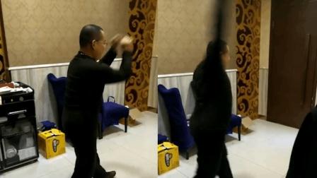 男子练拳时手臂突然变长 北体大老师: 是真的长了