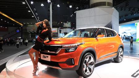 起亚携全新一代KX5、SP概念车等亮相2018广州车展