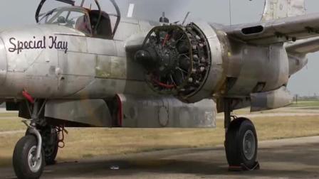 还是二战时期的老式飞机给力, 这声音听的好带劲!