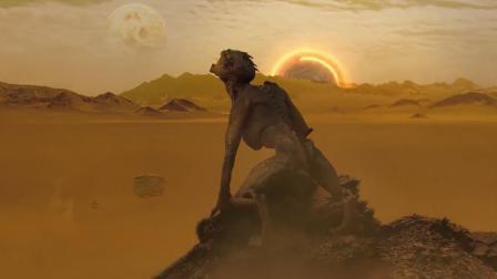 一颗满是沙漠的外星球, 住着一群可怕的怪兽, 见人就咬, 毫不客气!