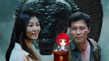 天津妞: 史上最狠心老板被大蛇给吞了, 全因一颗火龙果