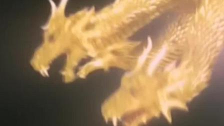 哥斯拉来到日本东京, 却遇见了天敌黄金三头龙, 开始了最终决战