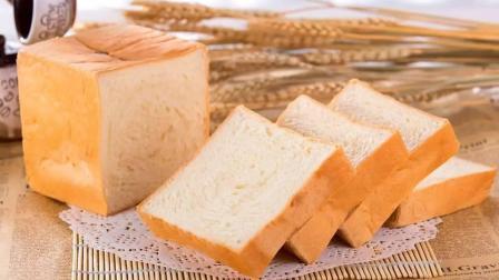 用牛奶和鸡蛋自制吐司面包, 奶香浓郁, 松软可口, 比卖更美味