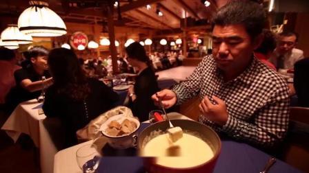 瑞士著名的奶酪火锅,取自于日常的芝士和面包,饱满带有淡淡臭味