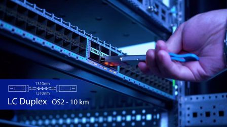 40GBASE-LR4 QSFP+光模块是什么?-飞速(FS)