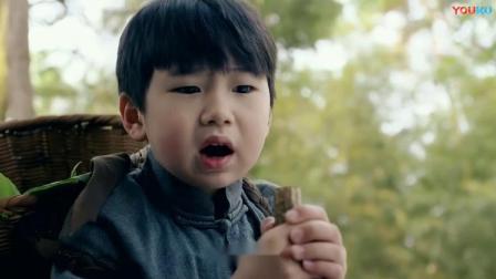 小男孩唱着山歌,突然听到有人喊他名字,转身居然看见了坟墓!