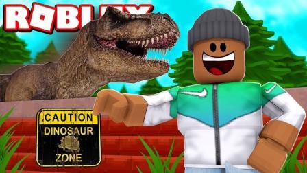 小格解说 Roblox 恐龙大亨: 穿越侏罗纪世界! 居然养了个霸王龙?