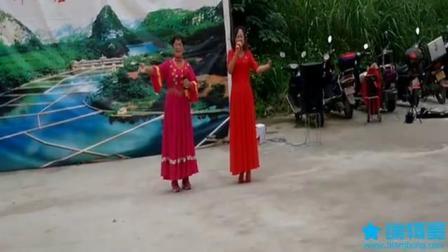庆祝重阳节。女声表演唱。电子琴伴奏。(柳州家乡。)赛飞燕.琴声悠扬。