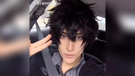 Driving to photoshoot for Persona 5 !