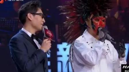 陈羽凡第一次单独演出 蒙面唱将 生活怎么对我 我都相信爱情