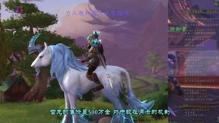 魔兽世界中那些闻风丧胆的天价坐骑, 雷龙仅拍第二位!