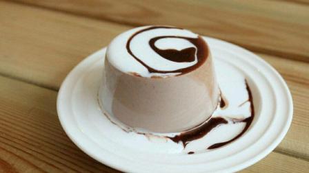 浓郁的巧克力布丁, 自己在家也能做哦!