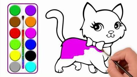 爱上画画: 幼儿绘画 宝宝最喜欢的小猫咪 超可爱
