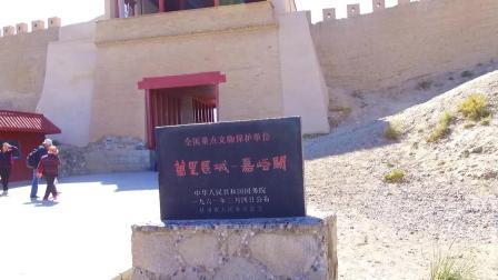实拍甘肃嘉峪关, 被称为天下第一雄关, 是明代万里长城的最西端