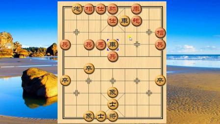 象棋: 胡荣华后手弃炮攻杀, 红方25回合投子认负, 非常精彩