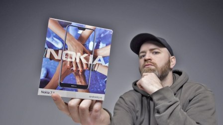诺基亚要回归了!?诺基亚 7.1 上手测评