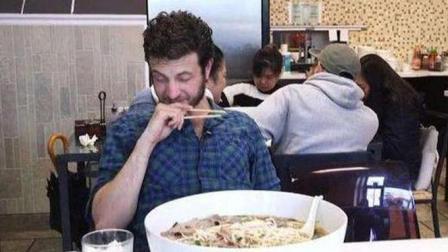 世界上最奇葩的挑战, 一小时内吃完一碗面, 就奖励一百美元!