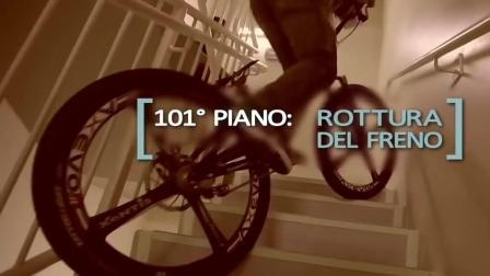 骑自行车爬到哈利法塔顶部, 160层仅用2个多小时, 获吉尼斯世界纪录