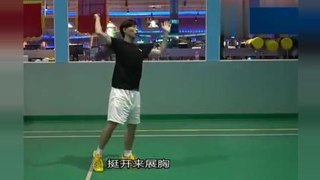 羽毛球教学: 怎么样把力从脚传递到手上? 蛮详细的讲解一起来看看吧