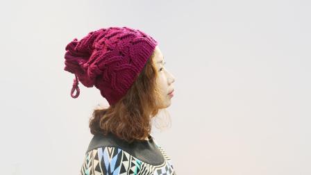 小辛娜娜编织2018第89集经典波光围脖帽子钩织方法花样编织集锦