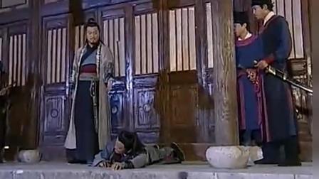 何捕头要挑战高手雷豹 不料雷豹功夫高强 一拳打得他脸肿!