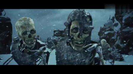 精彩 这些骷髅头本身没有什么战斗力 就是多