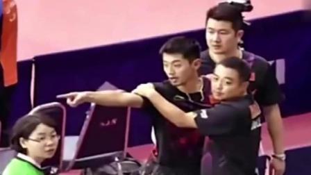 韩国人打乒乓侮辱中国人, 许昕11: 0拒绝让球! 韩国不干了