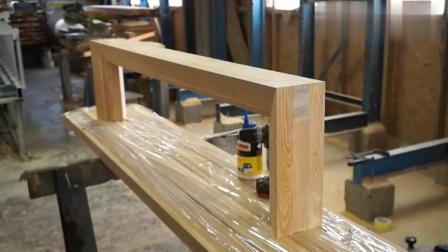 工地上新来的木工, 老板让做个长条凳考验技术, 看完给2万一个月