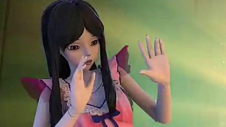 精灵梦叶罗丽6季故事精编  金王子被文茜打扮成女孩, 穿裙子扎蝴蝶结
