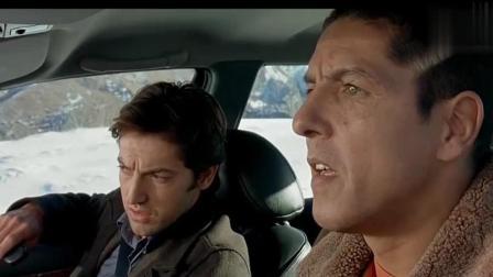 的士速递: 艾米里一下车就身陷雪海, 丹尼尔的表情亮了!