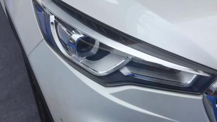 车展实拍: 国产插电混动版 最新款汉腾X7, 1.8T适时四驱系统新车