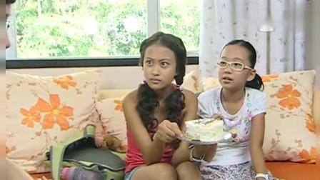 巴啦啦小魔仙: 小蓝用蜘蛛、蚂蚁给美琪美雪做蛋糕吃, 说是魔仙蛋糕
