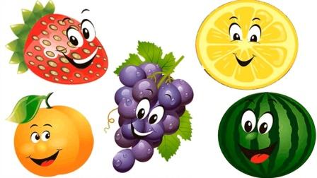 儿童动漫学英语厨房水果大派对学习各种水果的英语儿童英语