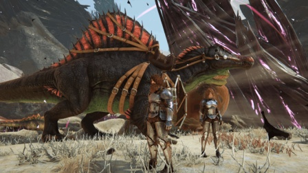 方舟生存进化灭绝DLC-带妹子部落大战第12天 抓到超牛南巨龙
