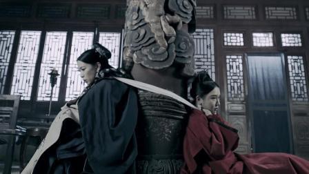 延禧攻略: 娴妃为何隔着柱子勒死嘉嫔, 别小瞧这个行为, 太可怕