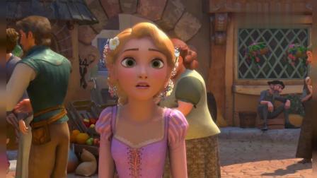 魔法奇缘: 长发公主的长发有点麻烦, 多亏小女孩们把它变成了漂亮的大辫子