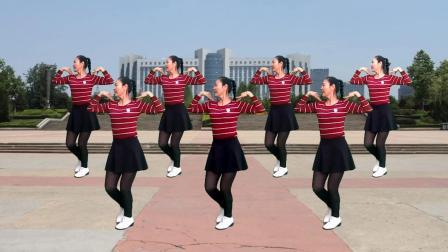 最新创编32步广场舞《今夜的你会不会想起我》简单好学